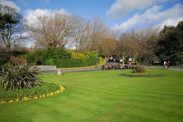 Dublin, St. Stephen`s Green2