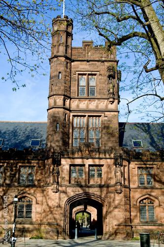 Campus of Princeton university dorm, New Jersey