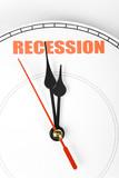 Economic Recession poster