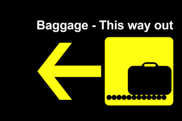 airline baggage terminal