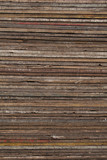 Wooden Planks in a Colorful Pile Texture. poster