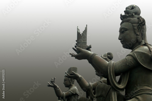 The buddha worshipers