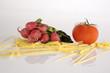 vegetables and macaroni