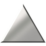 3d Steel Triangle poster