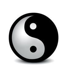 Yin Yang - silver