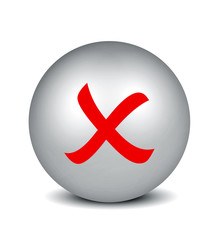 Cross Symbol - silver