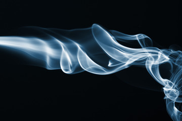 Streams of a smoke