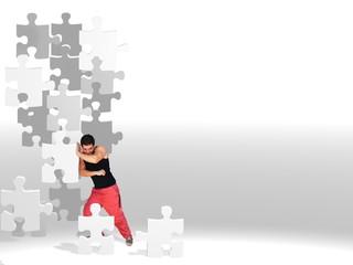puzzles en movimiento