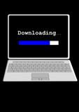 internet download laptop computer poster