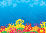 Sea background-