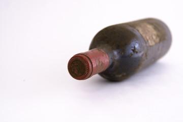 Bouteille de vieux vin