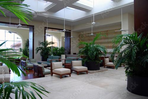 hotel lobby 1 - 6625747
