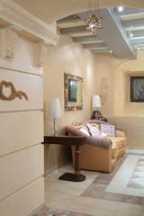 interior of sitting room