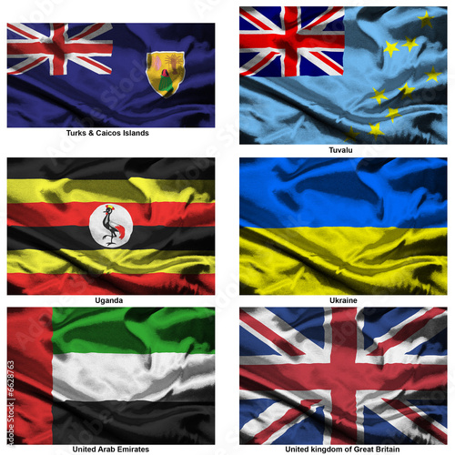 fabric world flags collection 40