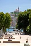 Basilique Notre-Dame-de-la-Garde à Marseille poster
