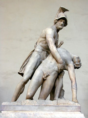 Menelaus supporting the body of Patrocles
