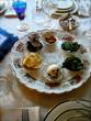 Traditional Passover Seder Plate Still Life