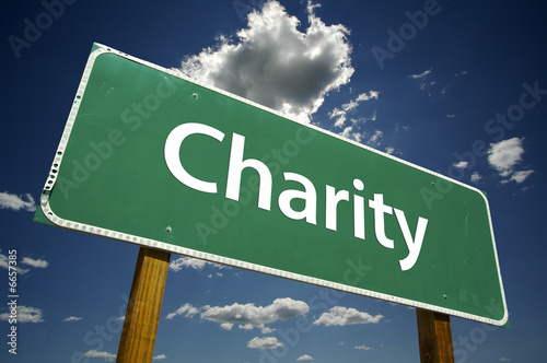 Charity - Road Sign