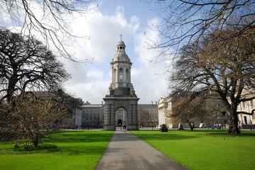 Dublin,Trinity College, Parliament Square; Campanile (1853) 4