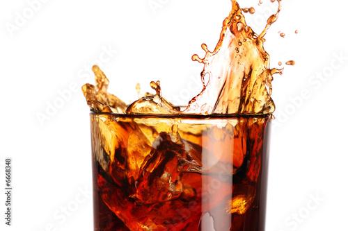 splash in a glass - 6668348