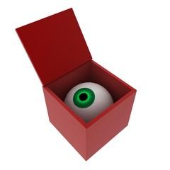 Eye in a box