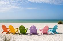 """Постер, картина, фотообои """"Summer Vacation Beach"""""""
