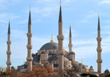 Blue Mosque of Istanbul, Turkey poster