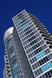 Modern condominium building poster