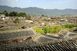 Chinese ancient town - Lijiang of Yunnan, China poster