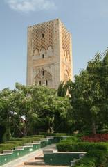 Ancient minaret in Rabat
