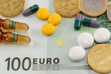 Pills on European currency