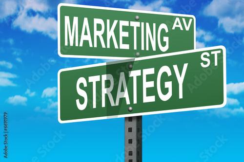 canvas print picture Marketing business sales