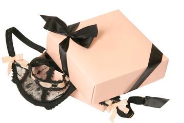lingerie in present box