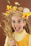 Pâques coiffure poster