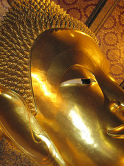 Reclining Buddha in Wat Po temple, Bangkok