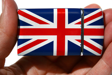 British flag lighter