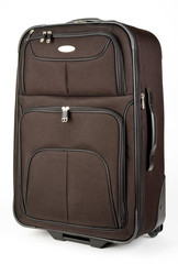 Black Mid Size Luggage Suitcase On Wheels