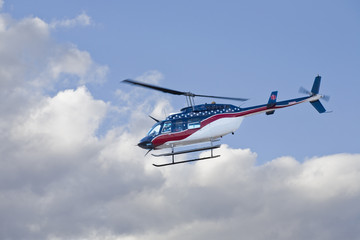 Flying Air Vac Helicopter