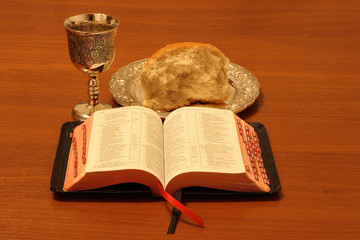 bread wine bible