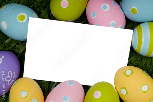 Easter Egg Notecard