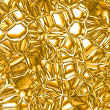 Glittering gold background poster