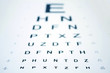 Leinwanddruck Bild - Snellen Eye Chart