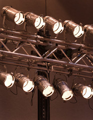 Theater Stage Lights Or Spotlights
