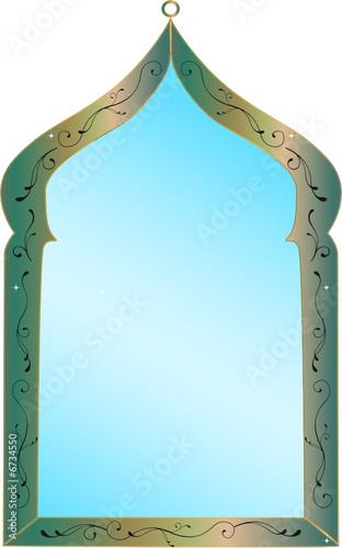 Miroir marocain fichier vectoriel libre de droits sur la for Miroir marocain