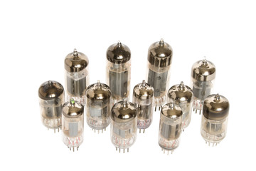 Vacuum tubes isolated