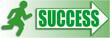SuccessWomanRunning