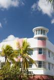 art deco hotel south beach miami poster