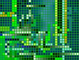 pixels; seamless decorative background poster