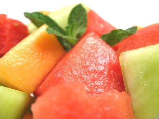 juicy melon salad