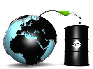 planète pétrole